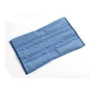 "Microfiber Plus Double Sided Wet Pad 18"" - Blue, 6/CS"