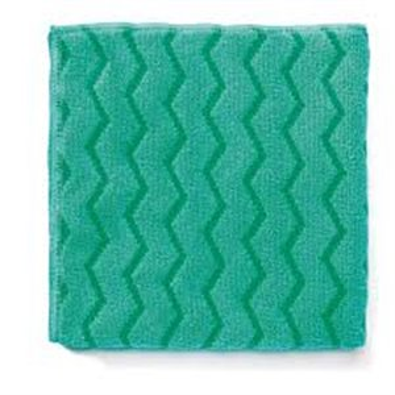 Microfiber Hygen XL All Purpose Cloth 20x20' - Green, 12/CS