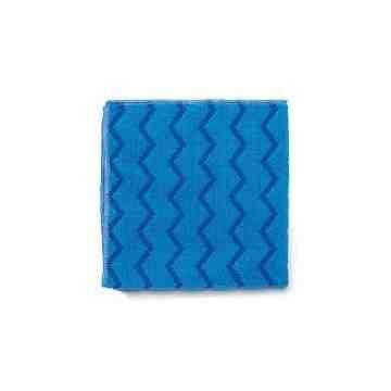 Microfiber Hygen All Purpose Cloth 16x16' - Blue, 12/CS