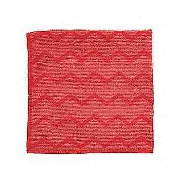 Microfiber Hygen All Purpose Cloth 16x16' - Red, 12/CS