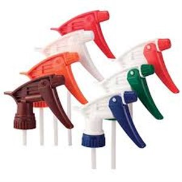 "Trigger Sprayer - Model 320 - 7 1/4"" - Blue/White, 200 Units / Price Per CS"