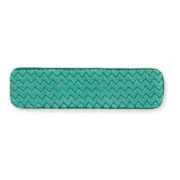 """Microfiber Hygen Dry Floor Pad 24"""" - Green, 12/CS"""