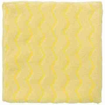 Microfiber Hygen Bathroom Cloth 16x16' -Yellow, 12/CS