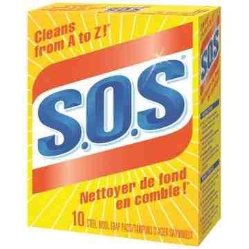SOS - Soap Pads - 6x10ct