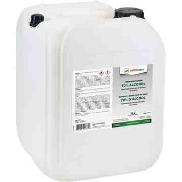 Aerochem Hand Sanitizer, 70% Alcohol, Liquid, 20L Pail - 2