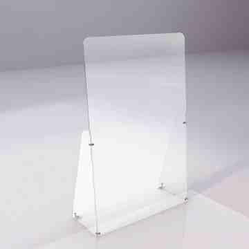 """Acrylic Shield, 24W"""" x 36H"""" Retail - 1"""