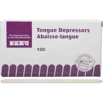 "Tongue Depressors, Class 1, 5/8"" x 5.5"", Box of 100 Pc"