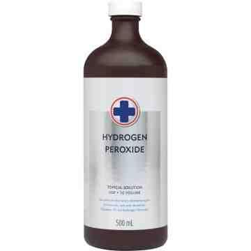 Hydrogen Peroxide USP 10%, 500mL