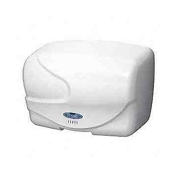 Hand Dryer - Auto Air Dryer 208V Zinc Die Cast - White