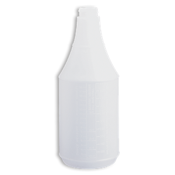 Bottle - Round 8oz - 28/410 - Poly Natural, 200 Units / Price Per CS