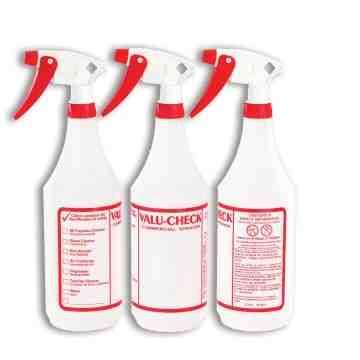 Bottle - Valu Check 3/pk - 32oz - w/Sprayers, 24 Units / Price Per PK