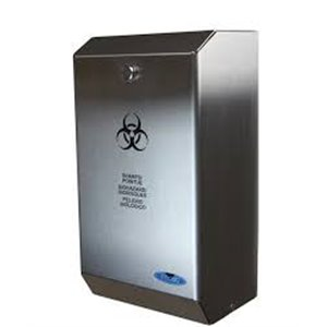 Biomedical Sharps Disposal Unit - Stainless Steel
