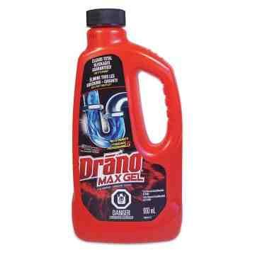 Drano - Max Gel Clog Remover - 12/900 ml