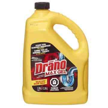 Drano - Max Gel Clog Remover - 4/3.78L