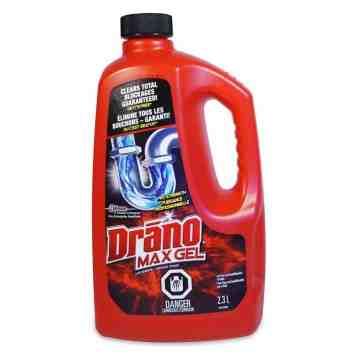 Drano - Max Gel Clog Remover - 6/2.37L