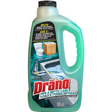 Drano - Pipe & Septic Build Up Remover - 6/900ml