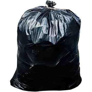 Garbage Bags - X-Strong Black - 26x36, 125/CS