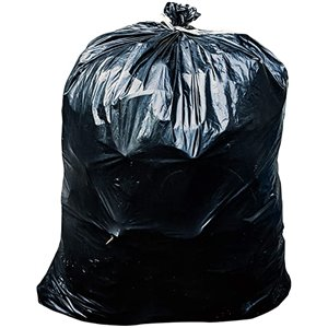 Garbage Bags - Strong Black - 26x36, 200/CS