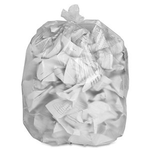 Garbage Bags - X-Strong Clear - 35x50, 100/CS