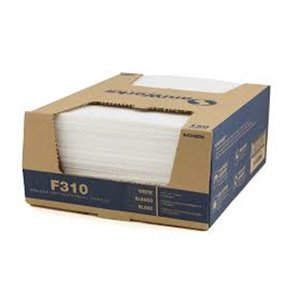 """Food Service Wipers Antimicrobial Towel 13x21""""Qtrfld Countercase Dual End 100/cs - White"""