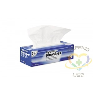 """Kimtech Science Wipers, 12"""" x 12"""", 15 Boxes/Case - 1"""