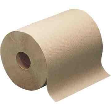 "PAPER TOWEL, HAND PAPER KRAFT 7.8""W 1.8""CORE 350' 12RL/CASE"
