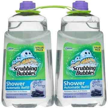 Scrubbing Bubbles - Shower Automatic Cleaner Refill - 6/1L