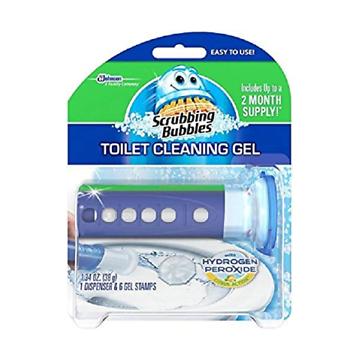 Scrubbing Bubbles - Toilet Gel w/Hydrogen Peroxide Fresh - Citrus - 6/1