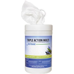 Triple Action Multi Disinfecting Wipes