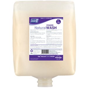 Natural Power Wash Hand Cleaner 4L