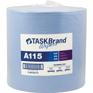 "TaskBrand® A115 Advanced Performance Wipers Each 12"" x 13"""