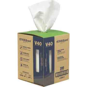 """TaskBrand® V40 Value Series Wipers Each 12"""" x 10"""""""