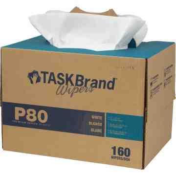 TaskBrand® P80 Premium Series Wipers Box of 160