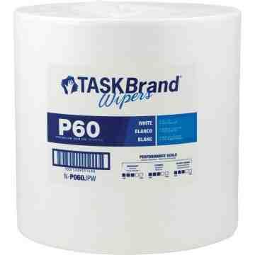 "TaskBrand® P60 Premium Series Wipers Each 1100 Sheets, 12"" x 13"""