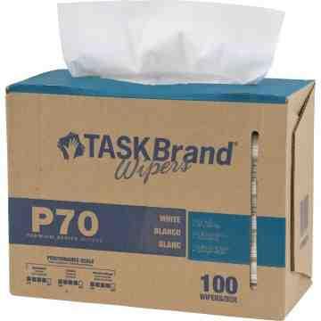 """TaskBrand® P70 Premium Series Wipers Box of 100 9"""" x 16"""""""