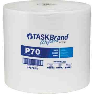 "TaskBrand® P70 Premium Series Wipers Each 870 Sheets, 12"" x 13"""