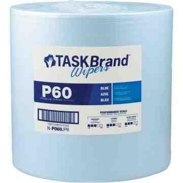 """TaskBrand® P60 Premium Series Wipers Each 12"""" x 13"""" 1100 Sh"""