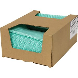 """SaniWorks® Choice Counter Cloths Case of 150 12"""" x 21"""""""