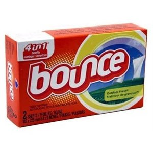 Bounce - Sheet Fabric Softener Coin Vend - 156/2ct
