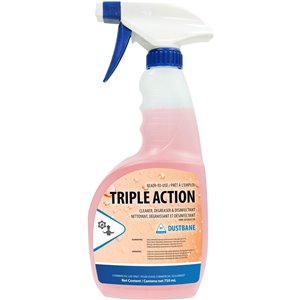 Triple Action - Cleaner, Degreaser, and Disinfectant 750mL