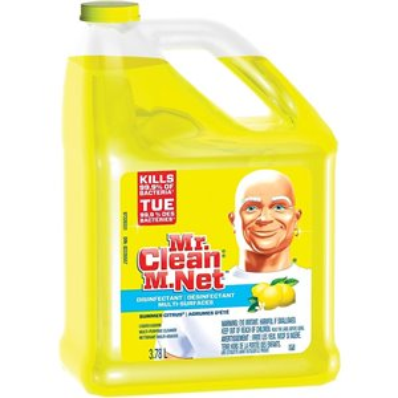 Mr.Clean - Liquid Multi-Surface Disinfectant Summer Citrus - 4/3.78L