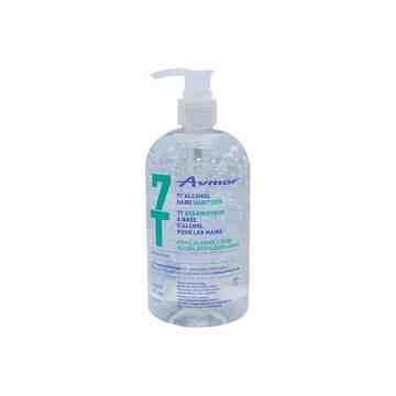 Avmor 7T Alcohol Hand Sanitizer (Gel) 500mL - 1