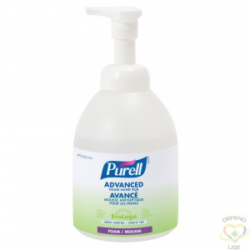 Purell Advanced Foam Rub, 70% Alcohol, 535 mL/Case of 4 - 1