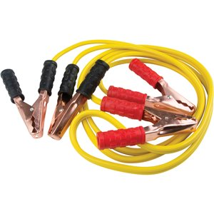 BOOSTER CABLE, 8 GAUGE,10'L