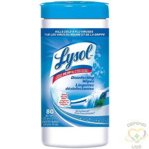 Preorder: Lysol® Disinfecting Wipes - Spring Waterfall - 6/80ct [CB792550] - 3