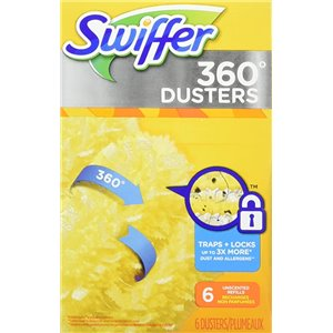 Swiffer Duster - 360 Refill Unscented - 4/6ct