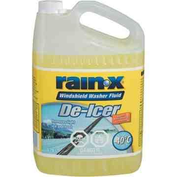 De-Icer Windshield Washer Fluid, 3.78L, Case of 4