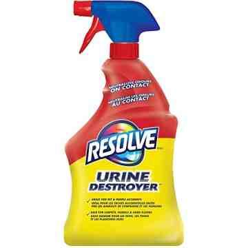 Resolve - Urine Destroyer Carpets Fabric Surface Trigger - 6/946ml [CB769788]