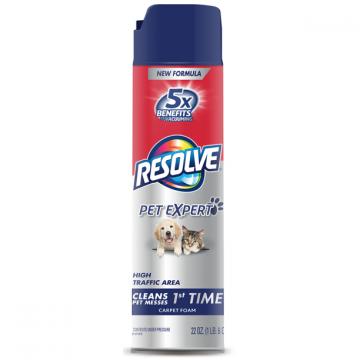 Resolve Carpet Cleaner - Carpet Foam Aerosol(Pet Aisle) - 6/623g [CB905079]
