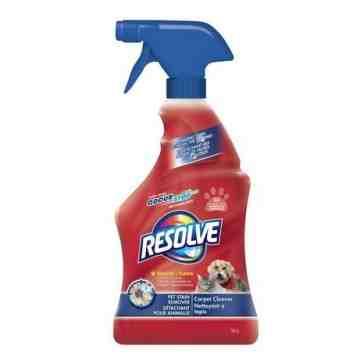 Resolve Carpet Cleaner - Pet Stain Removal Trigger - 6/650ml [CB780336]